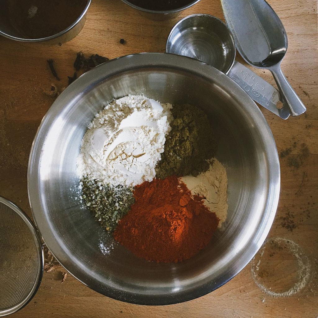 Adobo spice blend detail