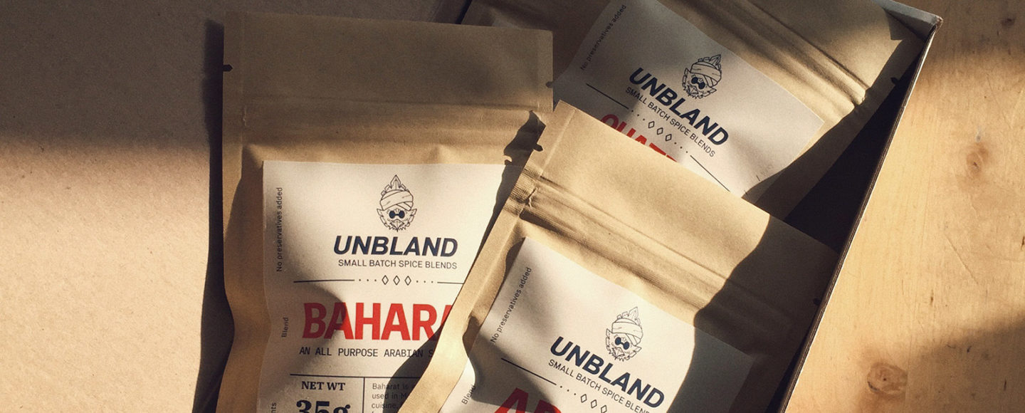 Unbland - small batch spice blends