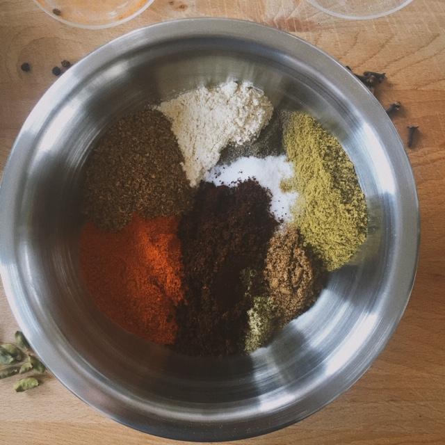 Zhug dry spice blend