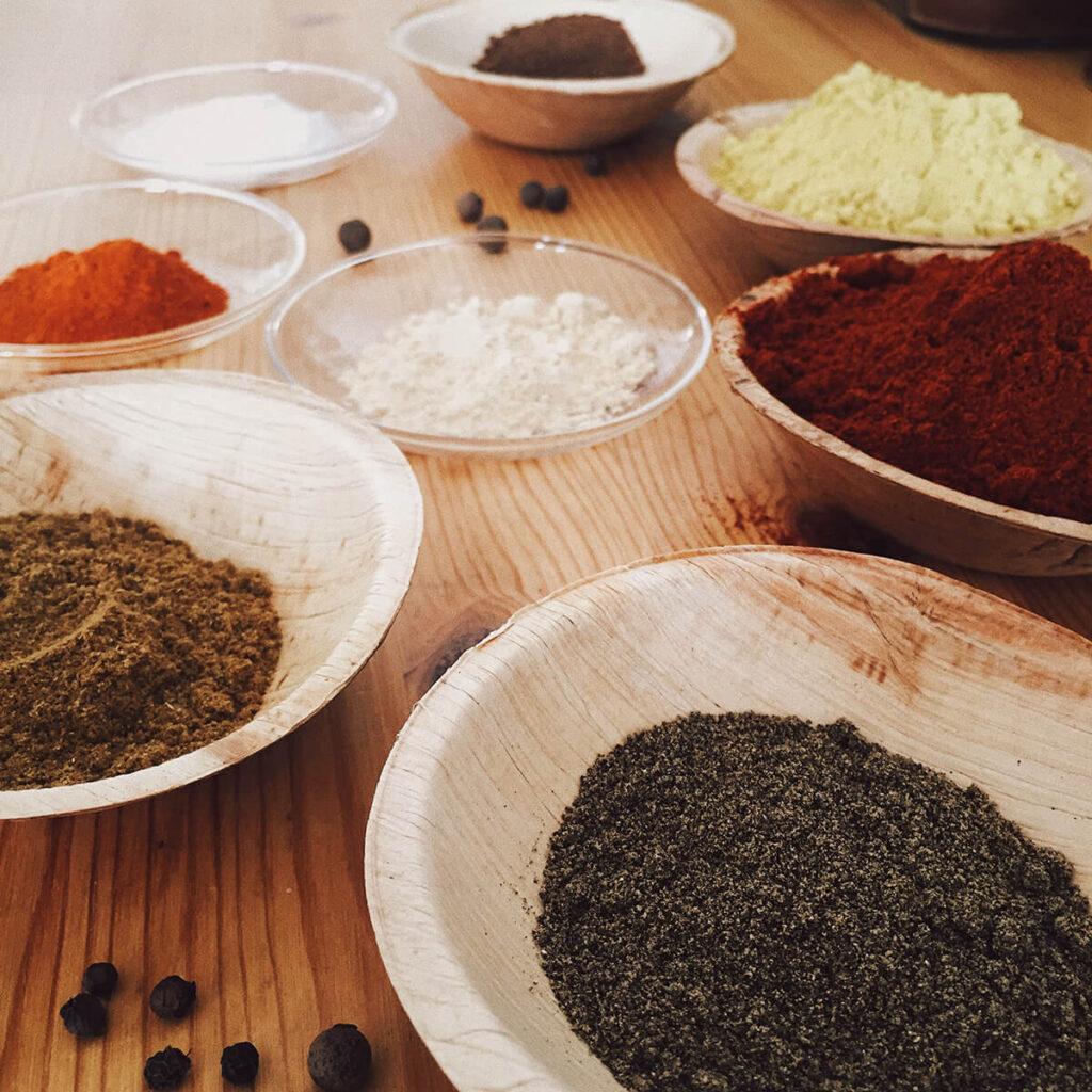 Chaimen spice blend ingredients